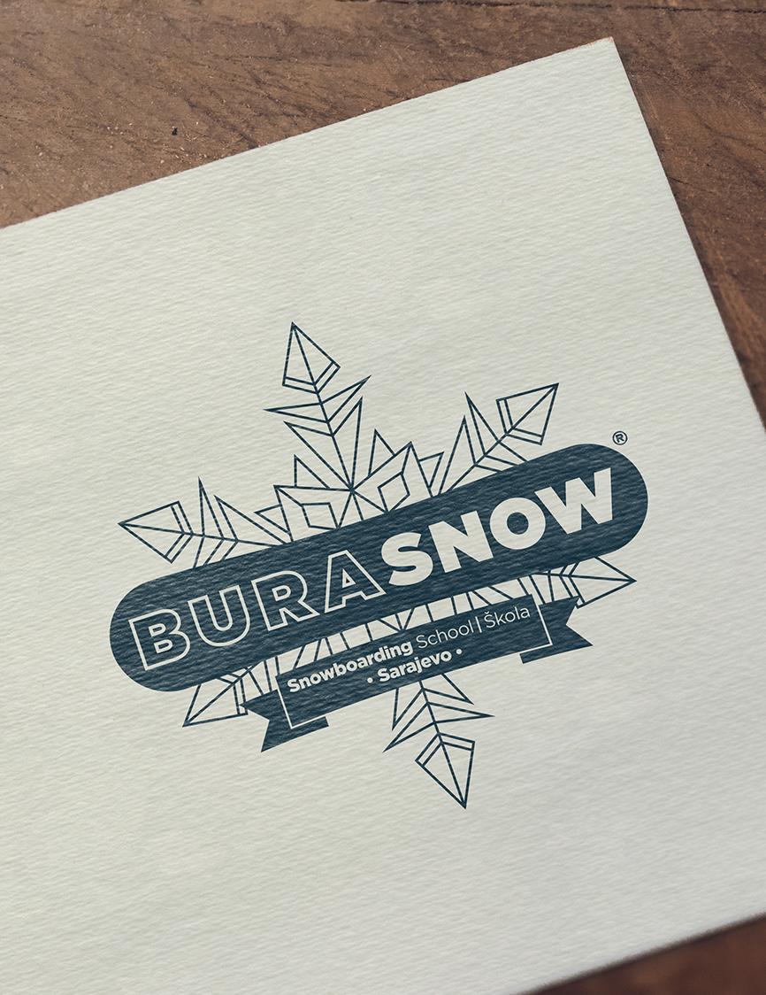 Burasnow - logo design