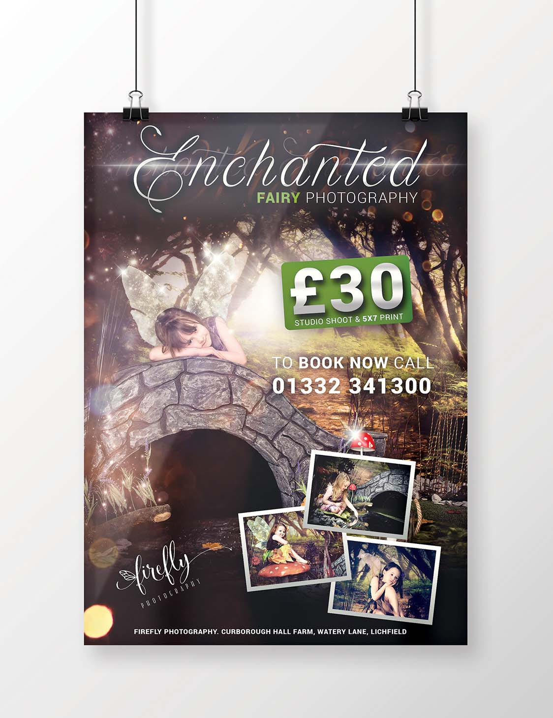 Enchanted - poster design