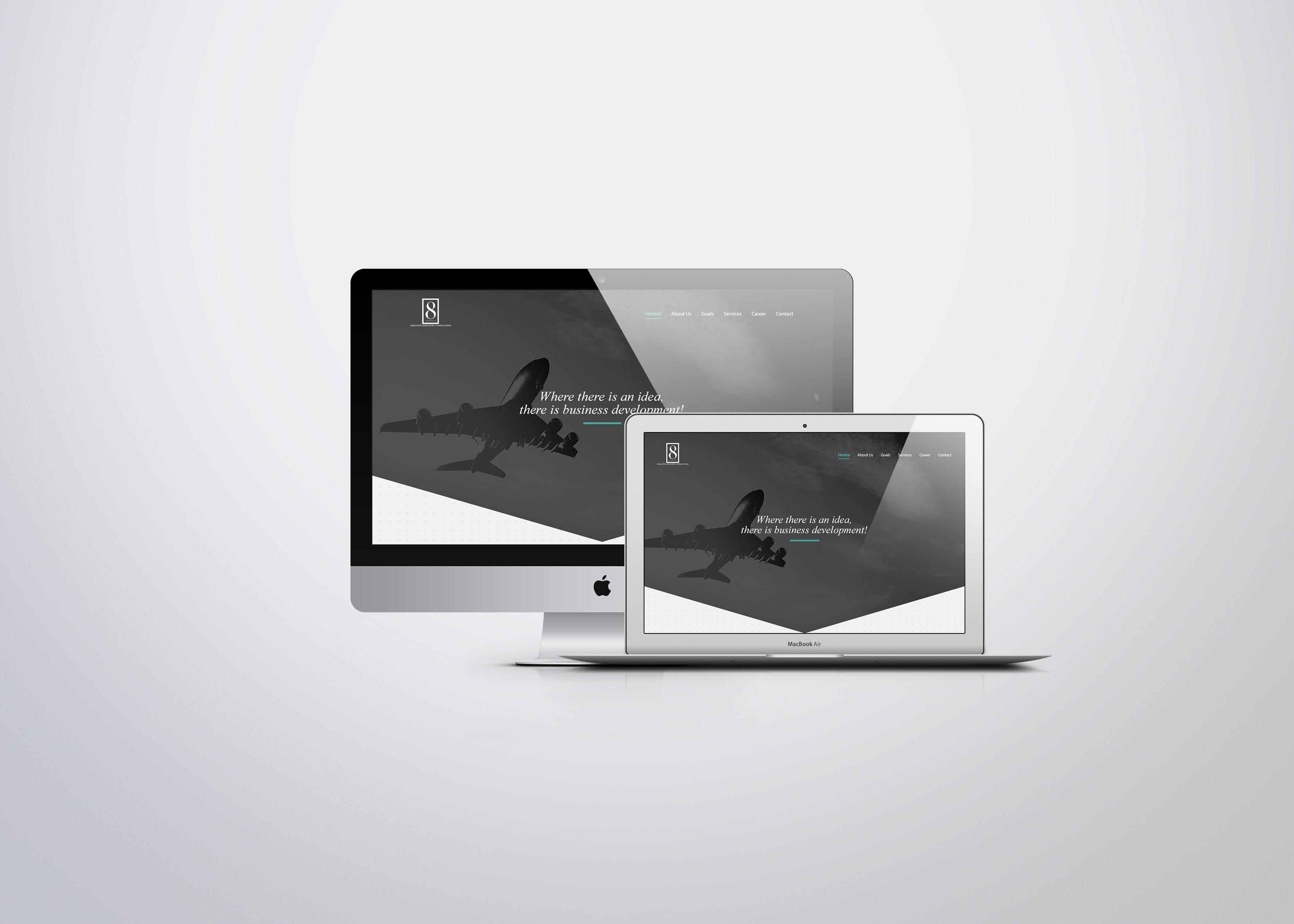 8 project - web design