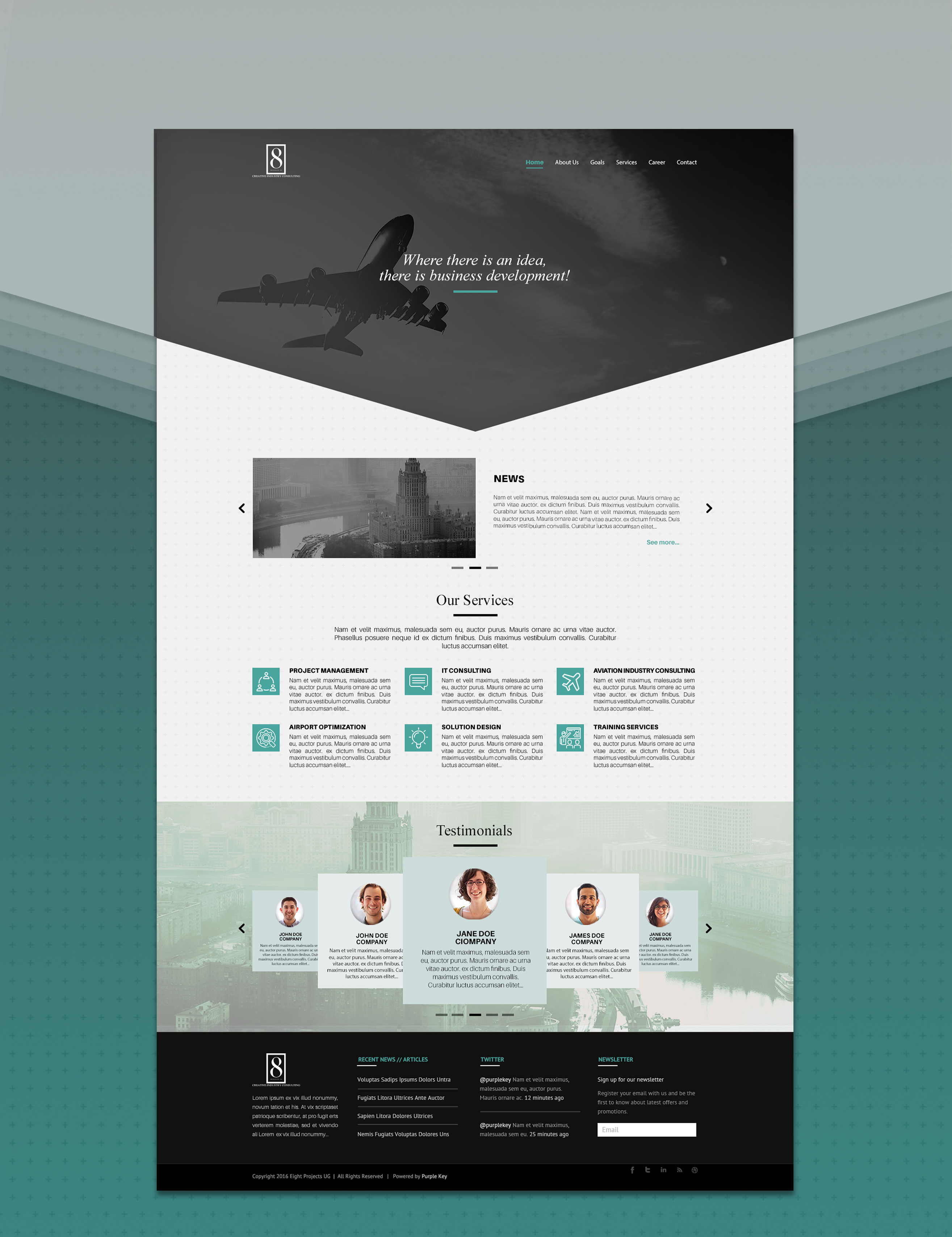 eight-project-web design