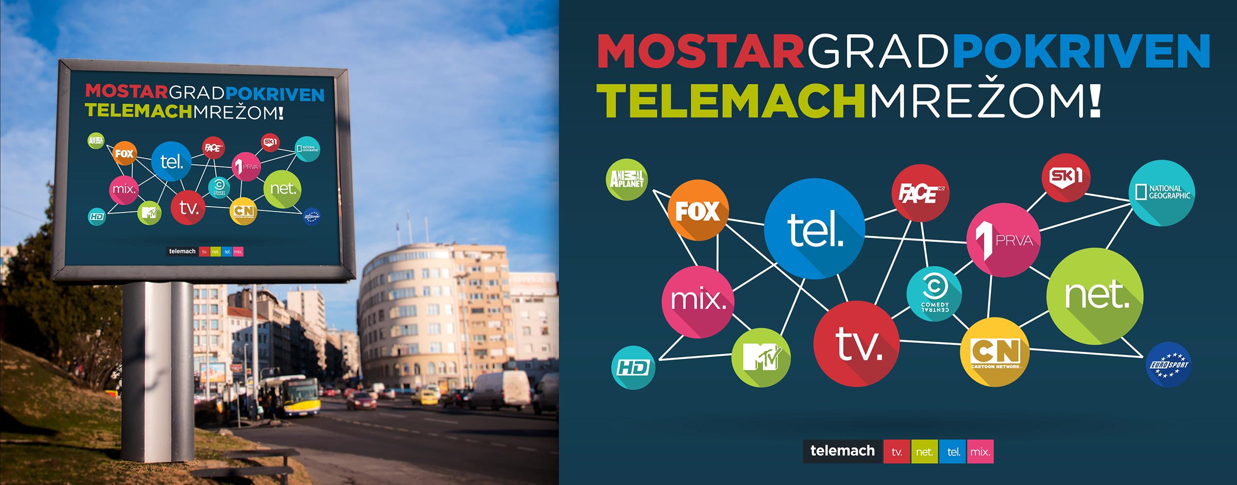 Telemach-Billbord