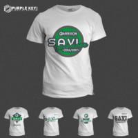 Savi - t-shirt design